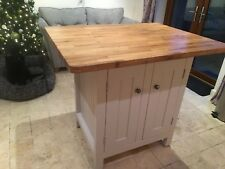 Kitchen Island Rustic hand made UNPAINTED- The Dunston