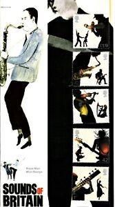 "2006 ""Sounds Of Britain"" Mint Stamp Set Presentation Pack"