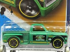 HOT WHEELS VHTF 2012 CITY WORKS SERIES CUSTOM 69 CHEVY PICKUP