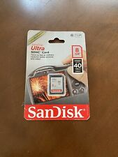 SanDisk Ultra SDHC 8 GB Memory Card - Brand New in Package!