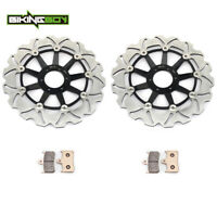 For Honda CBR900RR CBR 900 RR 94 95 96 97 VTR1000F Front Brake Discs Rotors Pads