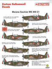 Morane MS 406 1/32 scale 32035 Techmod decals