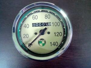 PUCH 1968 SPEEDOMETER new replica 140 kph