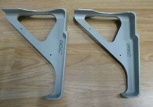 Aviation BAe146 pair of grey brackets new old stock upcycle project aircraft