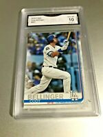 CODY BELLINGER 2019 Topps #507 GMA Graded 10 Gem Mint