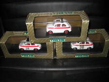 1.43 EARLY VITESSE  3 x FIAT 500 SPORT  WHITE ROAD & RACE CARS OLD  STOCK L082
