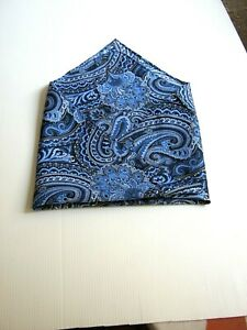 Foulard Clutch Bag Paisley New Sewing A Mano Sewn Hand