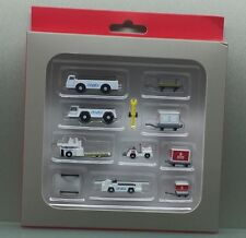 Gemini Jets 1/200 Emirates Airport Service Vehicles 11 pieces GSE miniature set