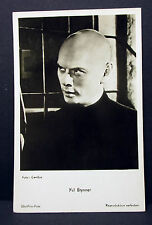 Yul Brynner-Actor MOVIE PHOTO-Foto Autografo-AK lot-h-4379