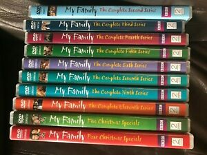 My Family Series 2 3 4 5 6 7 9 11 & Christmas Specials DVD Choose From List