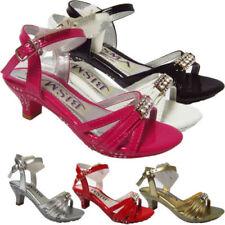 Calzado de niña sandalias de color principal rosa sintético