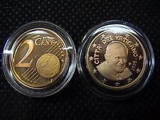 VATICANO euro 2007 MONETA CENT 2 eurocent FONDO a SPECCHIO PROOF FS PP BE