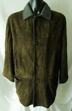 LONGHI PARKA GIACCA Giaccone Coat Jacket TG.54 in vera pelle foderato ORIGINALE