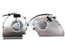 New MSI GE72VR GP72VR Cpu + Gpu Cooling Fan (2 Fans) PAAD06015SL N402 N404