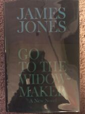 Go To The Widow-maker, James Jones. From Library Of Author Don Robertson, 1st Pr