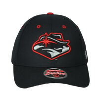 NCAA Zephyr UNLV Las Vegas Rebels Adjustable Black Curved Bill Hat Cap