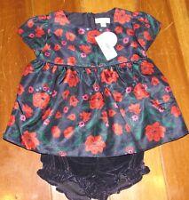 bcf283ef12 Gymboree Dress Girls Bloomers 2 2T Toddler Short Sleeve NEW Blue Red Floral  Rose