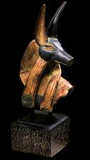 Anubis Sculpture Bust ancient Egyptian God Art replica reproduction