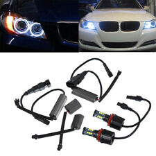 2x H8 LED Angel Eye Halo Ring Marker lighting Bulb for BMW 1 3 5 X Series 120w