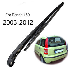 Rear Windscreen Wiper Blade Arm Set For Fiat Panda 169 Hatchback Box 2003-2012