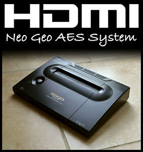 HDMI Neo Geo AES NGH System/Console • HDTV 720p/1080p, Stereo, UniBios • SNK