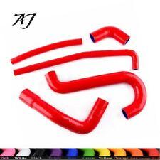 For ALFA ROMEO SZ RZ ES-30 3.0 V6 89-91 SZ/ 92-93 Silicone Radiator Hoses Red