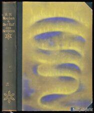 Houben, H. H.; Der Ruf des Nordens, 1927
