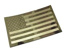 Large Multicam (OCP) Tactical 5x3 THERMAL (FLIR) REFLECTIVE American Flag Patch
