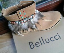 Quirky Bellucci Indian Flat Boots Ladies UK Size 6