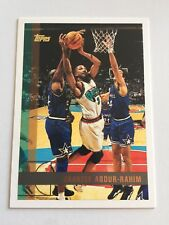 1997 Topps NBA Basketball Card #94 Shareef Abdur-Rahim Vancouver Grizzlies