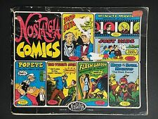COMIC BOOK NOSTALGIA COMICS FROM 1930's - 40's FROM 1979, 96 PAGES