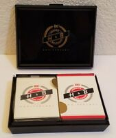 Vintage Hendrie Bolthoff 100th Anniversary Collectible Playing Cards Case H & B