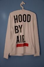 Hood By Air White Hoodie Size M