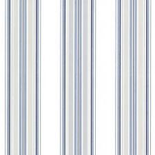 Papel pintado RÁPIDO MATCH RACE 021209 Rasch Textil Blanco Rayas Azul