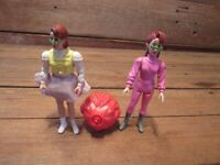 Vintage LOT Kenner Real Ghostbusters Slimed Heroes 1980's Action Figures