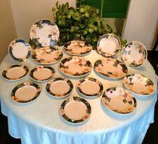 Savannah Grove 15 pieces porcelain dishes plates and bowls