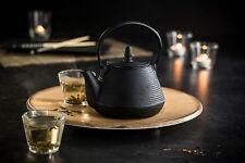 TopStyle Cast Iron Teapot Black 1.0L