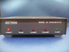Zetron model 30 Worldpatch with connector cable