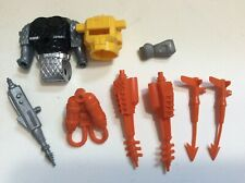 Mantech Action Figure Parts Lot Repair Remco Weapons Accessories aqua tech +more