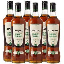 17,50€/L GUAJIRO Rum Ron Miel Honigrum 6 x 1 Liter 30% von Kanaren