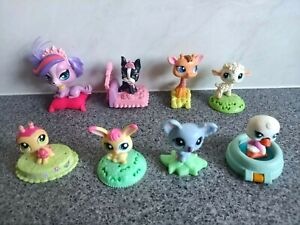 McDonalds LPS Promotional Toys ~ Littlest Pet Shop ~ lot of 8 all in VGC! ~ L1