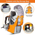 Newest Baby Toddler Backpack Carrier Stand Child Kid Sunshade Visor Shield US