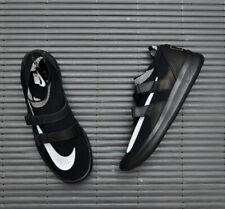 NikeLab Air Sockracer FlyKnit UK 11 EUR 46 Black White  904580 001 UK10 EUR 45
