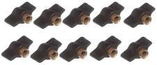 Confezione di 10 Chiave di spurgo radiatore in ottone valvola per radiatori strumento chiave idraulici essenziale