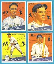 1934 Goudey Reprint Team Sets: Pittsburgh Pirates (Waner)
