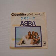 "ABBA - Chiquitita - 1979  7"" SINGLE JAPAN"