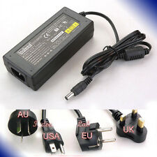 AC90-265V Adapter 12V 5A to Tripath T Amp + Power Cord