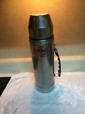 Uno-Vac Stainless Steel Thermos Vintage Retro Unbreakable Liner - Made In Usa