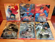 Hot Wheels 2016 Pop Culture DC COMICS BATMAN SUPERMAN inc VW T1 PANEL etc (A+/A)
