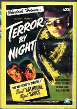 Basil Rathbone/Nigel Bruce 'SHERLOCK HOLMES-TERROR BY NIGHT' DVD New/Sealed